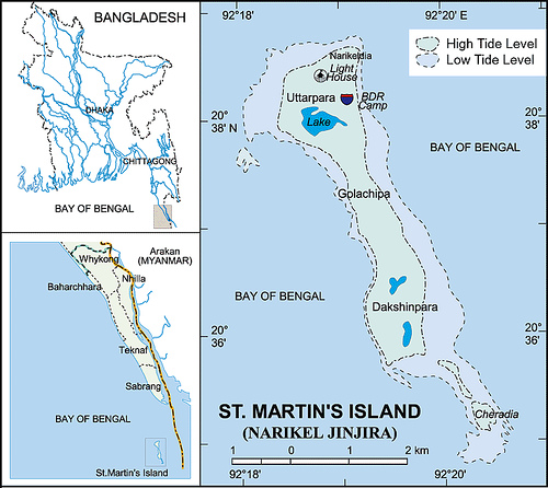 map-of-saint-martins-island