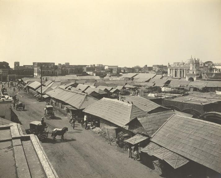 Chowk Bazar at 1904