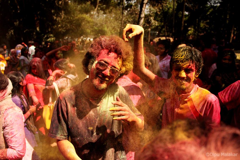Holi at Dhaka Photographed by Dipu Malakar